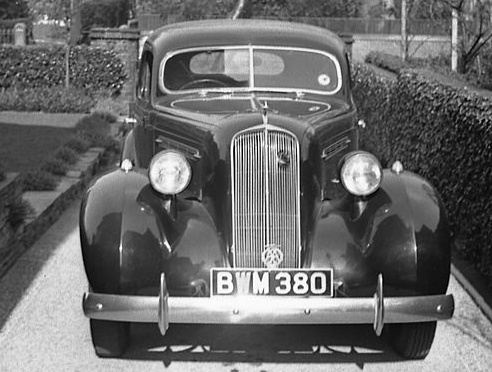 1936 Studebaker rhd