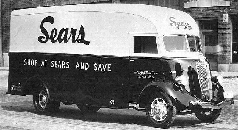 1936 Studebaker Sears