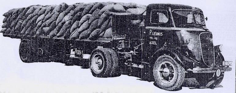 1936 Studebaker vrachtauto