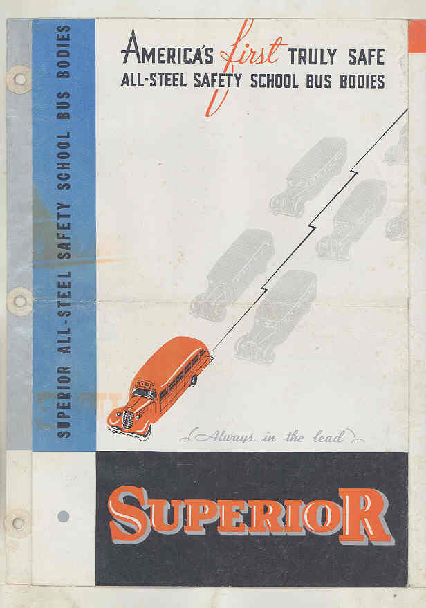 1936 Superior Pioneer School Bus Brochure