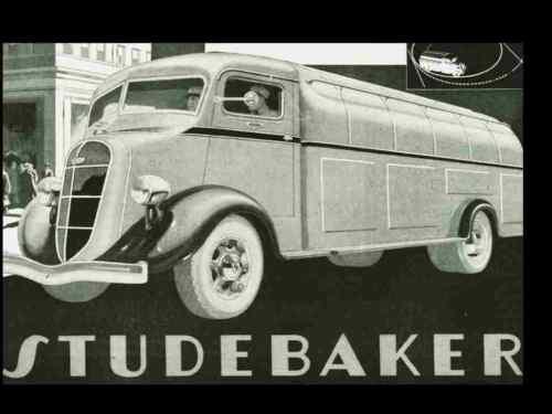 1937-37 studebaker bus-truck service manual set