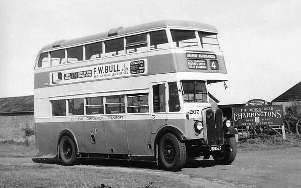 1937 AEC Regents with English Electric L27-26R body