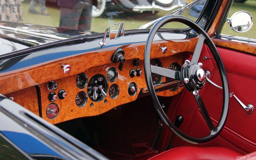 1937 Bentley 4.25 Litre Gurney Nutting Sedanca Coupé