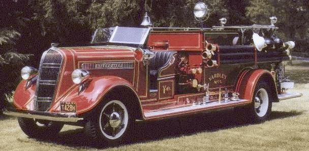 1937 brandweer trucks studebaker firea01f