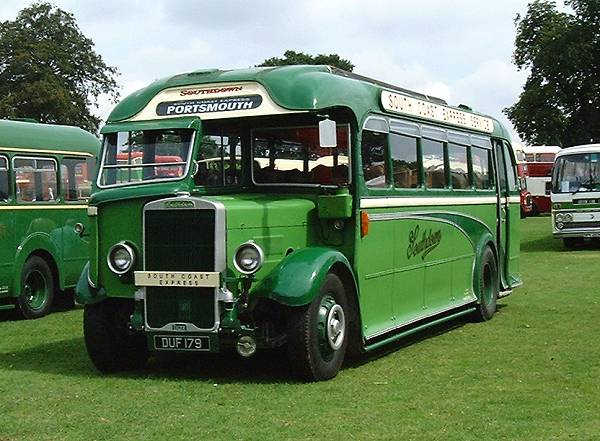 1937 Leyland Tiger TS7 with a Harrington 32 seat rear entrance body