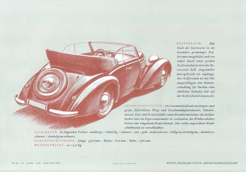1937 steyr 220 cabriolet 4 venster