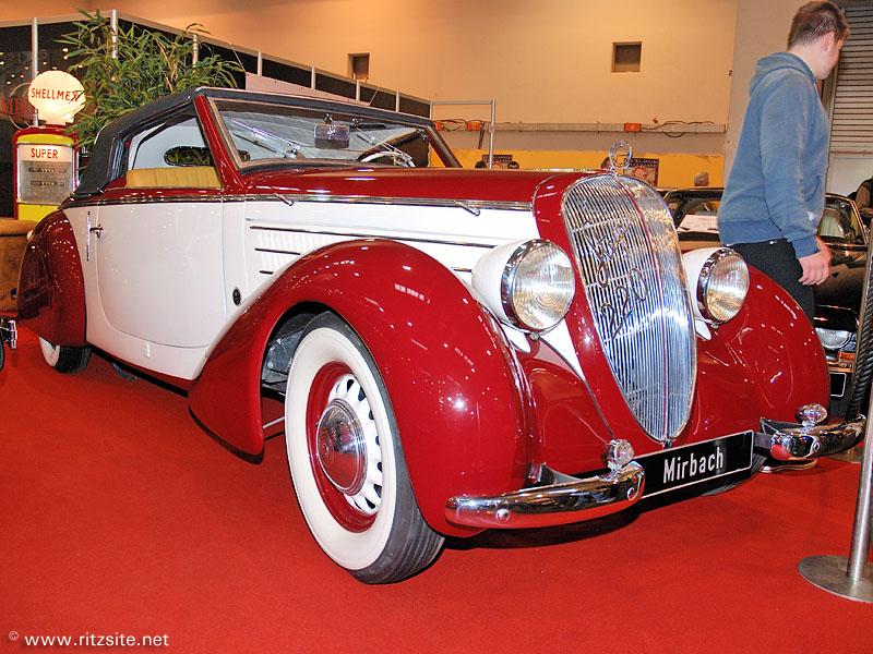 1937 Steyr 220 - cabriolet by Gläser