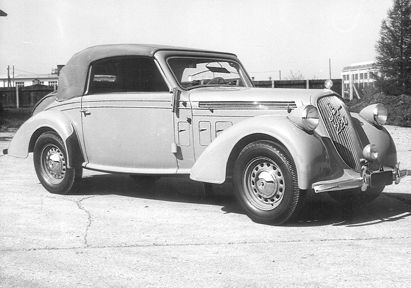 1937 Steyr 220 Kabrio