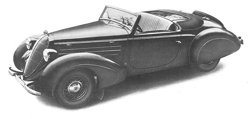 1937 steyr 220 kabriolet sport