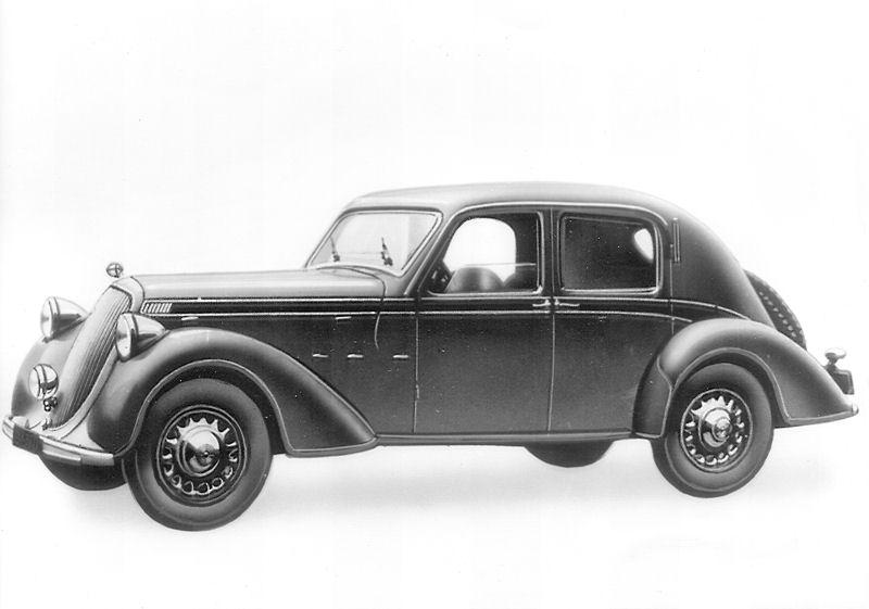 1937 Steyr 220 Limousine - Innenlenker