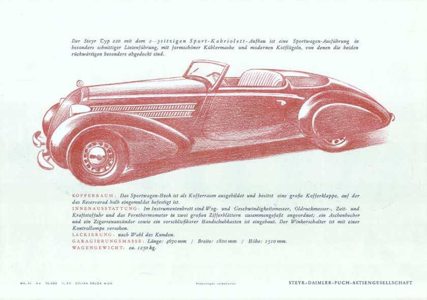 1937 steyr 220 p14r