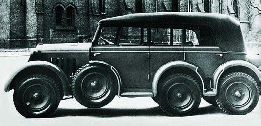 1937 Steyr-640 (40D), 6x6, Staff Car