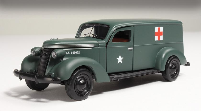 1937 Studebaker ambulance