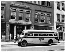 1937 Studebaker Bus Automobile Photo Poster Z1756