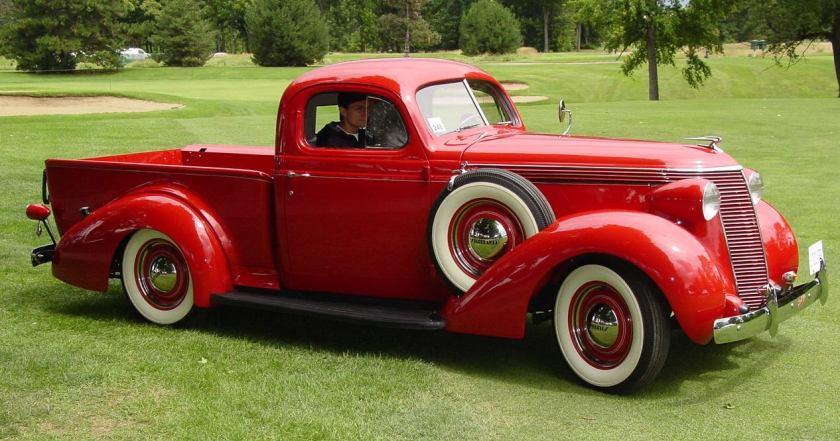 1937 Studebaker camioneta modelo J5