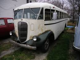 1937 Studebaker Patchett School Bus Buses