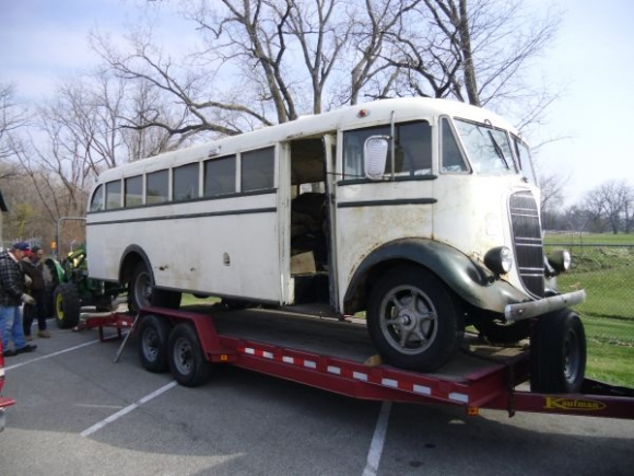 1937 Studebaker School Bus Project