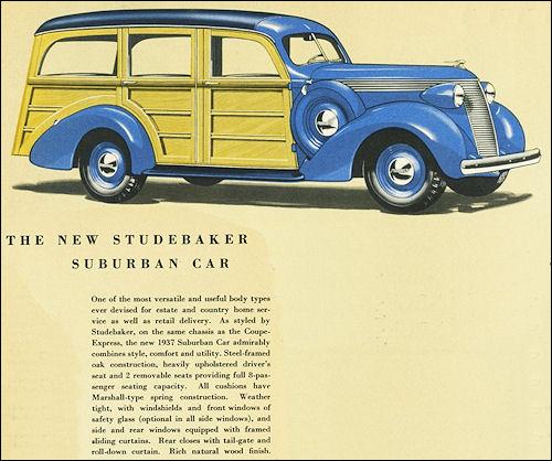 1937 Studebaker Suburban