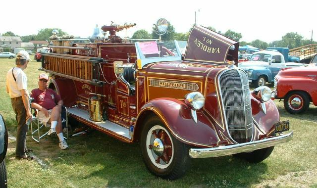 1937 Studebaker's 259 cubic inch V8 and has an eight foot bed