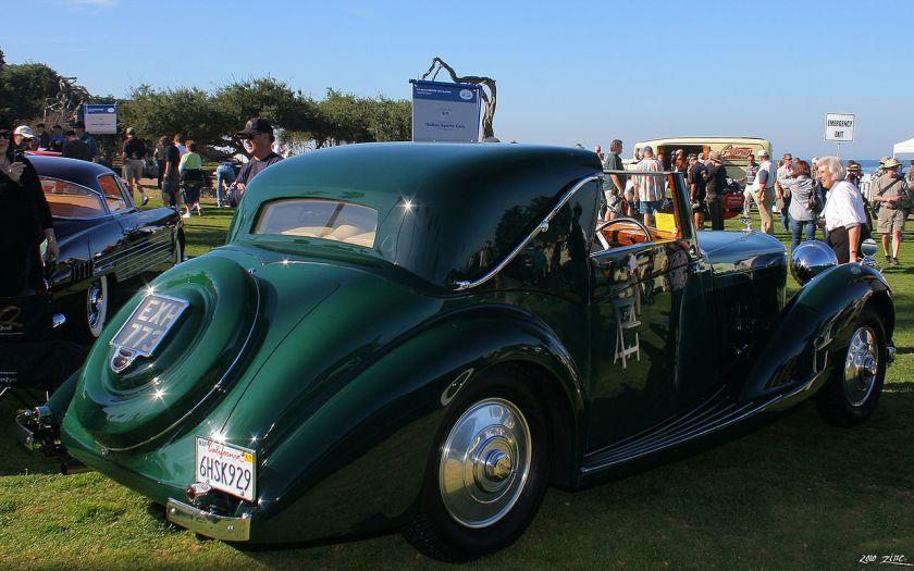 1938 Bentley Sedanca Coupé Gurney Nutting