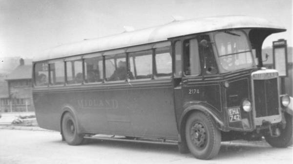 1938 SOS SON f with English Electric B38F body