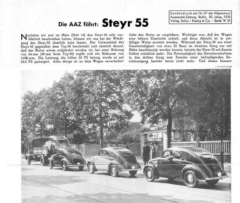 1938 Steyr 55 t1a