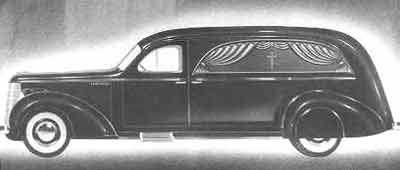 1938 Studebaker Bender Hearse