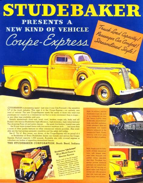 1938 Studebaker Coupé Express