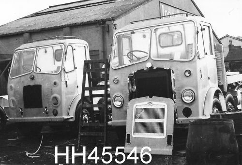 1938 Two Bristol Trucks under construction at Longwell Green Coach Works BS30.
