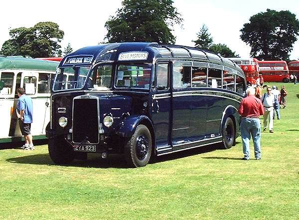 1939 Leyland Cheetah with Harrington C31F body
