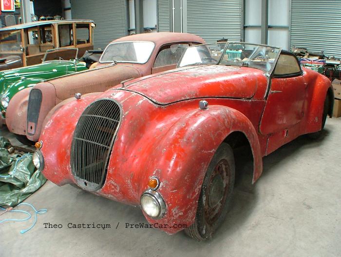 1939 McEvoy Steyr 700