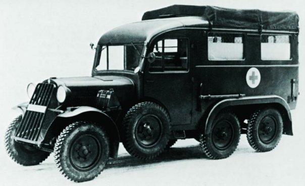 1939 Steyr-643 (40D), 6x6