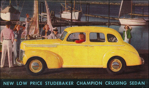1939 studebaker champion sedan