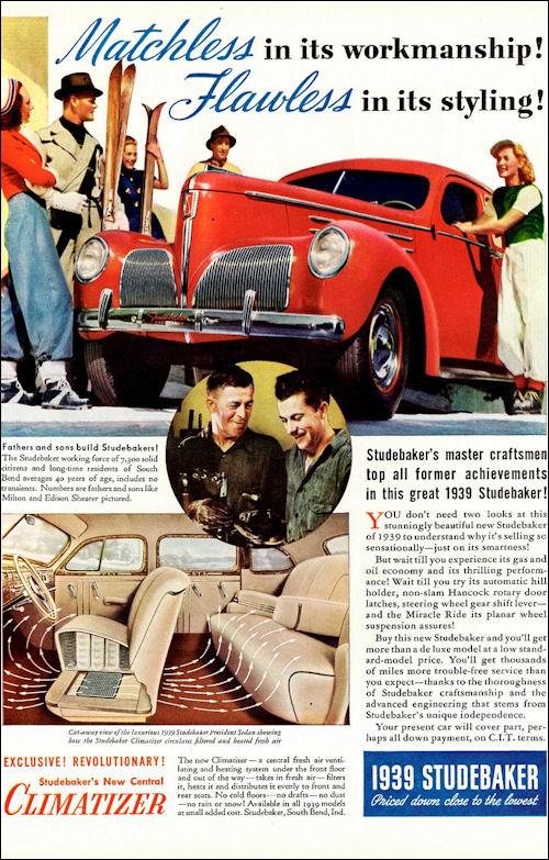1939 Studebaker President Sedan