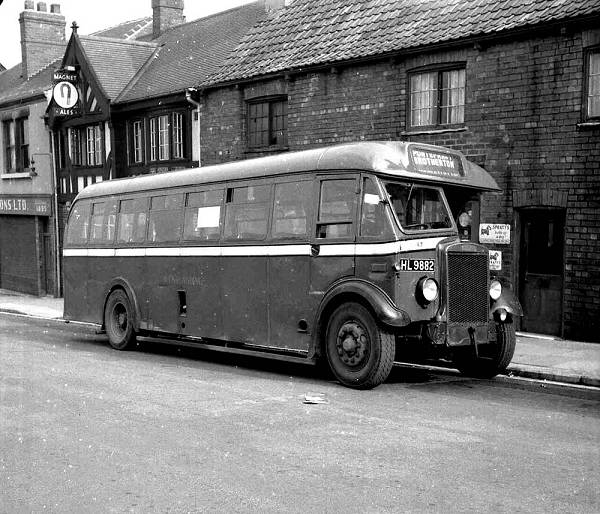 1940 Leyland TS11 with Barnaby B32F body