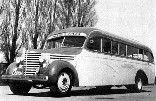 1940 Stewart met de tweede karrosserie van Hainje