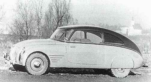 1940 Steyr 70 - Prototyp 2