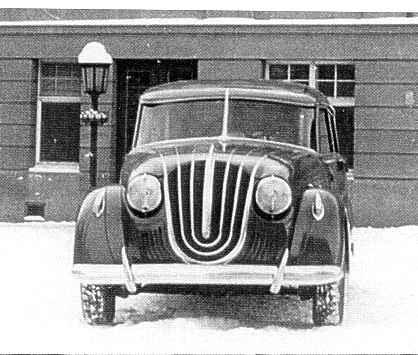 1940 Steyr 70 - Prototyp
