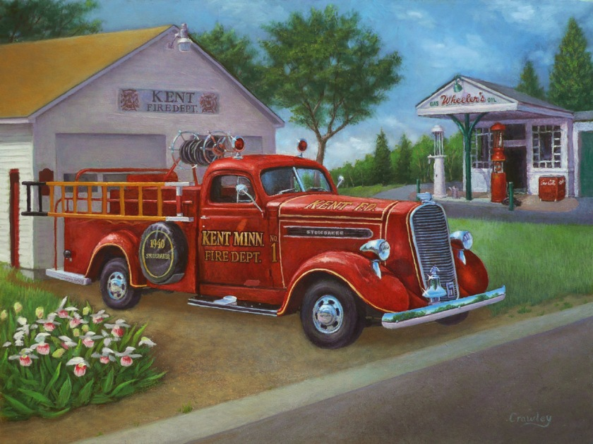 1940 studebaker firetruck
