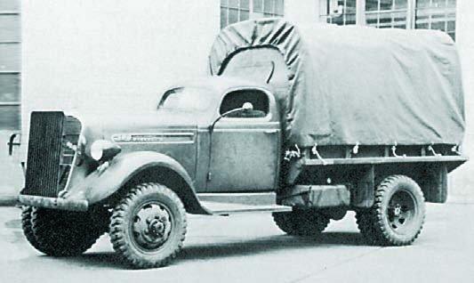 1940 Studebaker K15F, 4x4