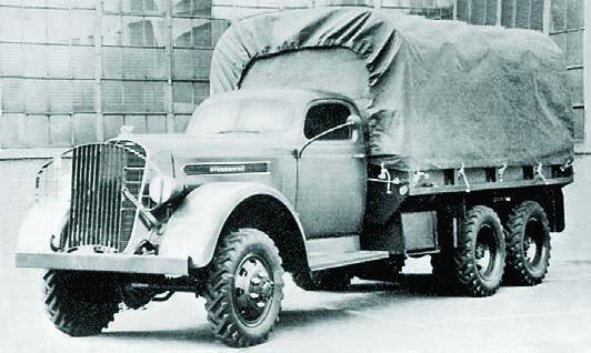 1940 Studebaker K25S, 6x6