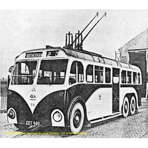 1940 Sunbeam Trolleybus, Rotherham Black Country Histor