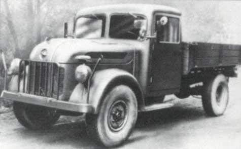 1941 Steyr 1500 A light truck