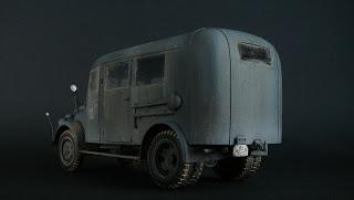 1941 Steyr 1500 Omnibus Personal Bus