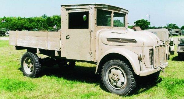 1941 Steyr-270 (1500А), 4x4