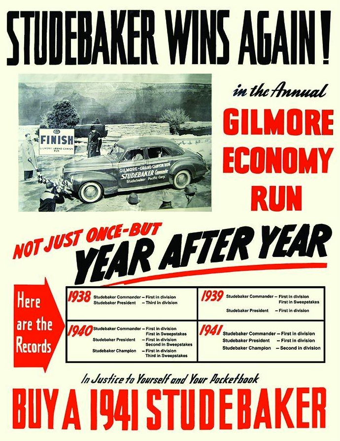 1941 Studebaker Ad.