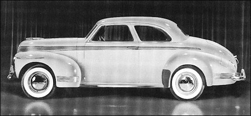 1941 studebaker Commander coupe