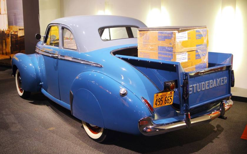 1941 Studebaker Coupe Pickup b