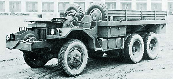 1941 Studebaker LA, 6x6