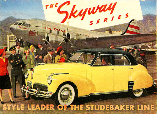 1941 Studebaker Skyway Series Land Cruiser Sedan